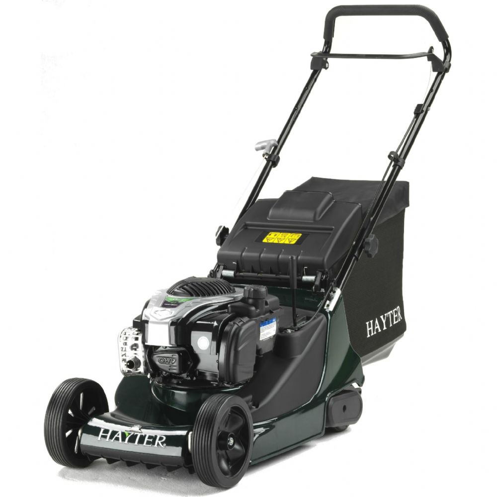 Hayter Harrier 41 41cm Petrol Push Lawnmower (374A)